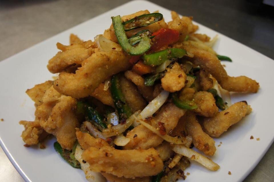 Salt And Pepper Chicken Recipe — Dishmaps
